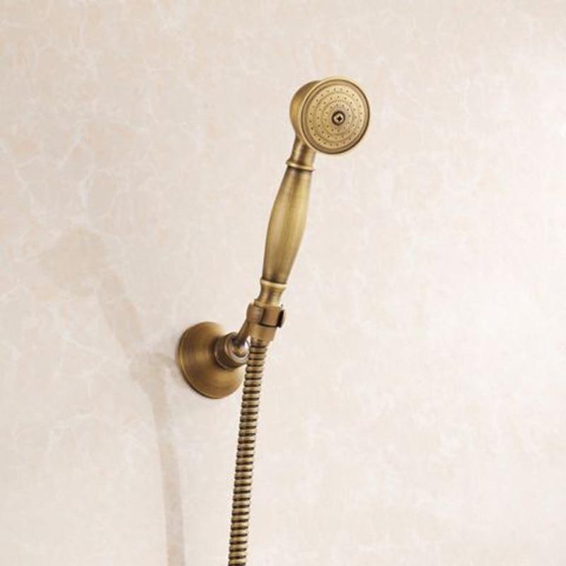Handheld Shower Head + Shower Base + Holder Shower Hose Antique ...