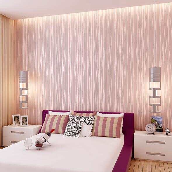 US $32.67 |10 Meter Modern Elegant Stripes Bedroom Non woven Silver Glitter  Wallpaper TV Wall Paper Mural Wallpapers Home Decoration N21-in Wallpapers  ...