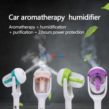 Newest 12V Car Air Freshener Steam Humidifiers Charger  Nebulizer Portable Mini Aromatherapy Humidifier Aroma Diffuser Free Ship