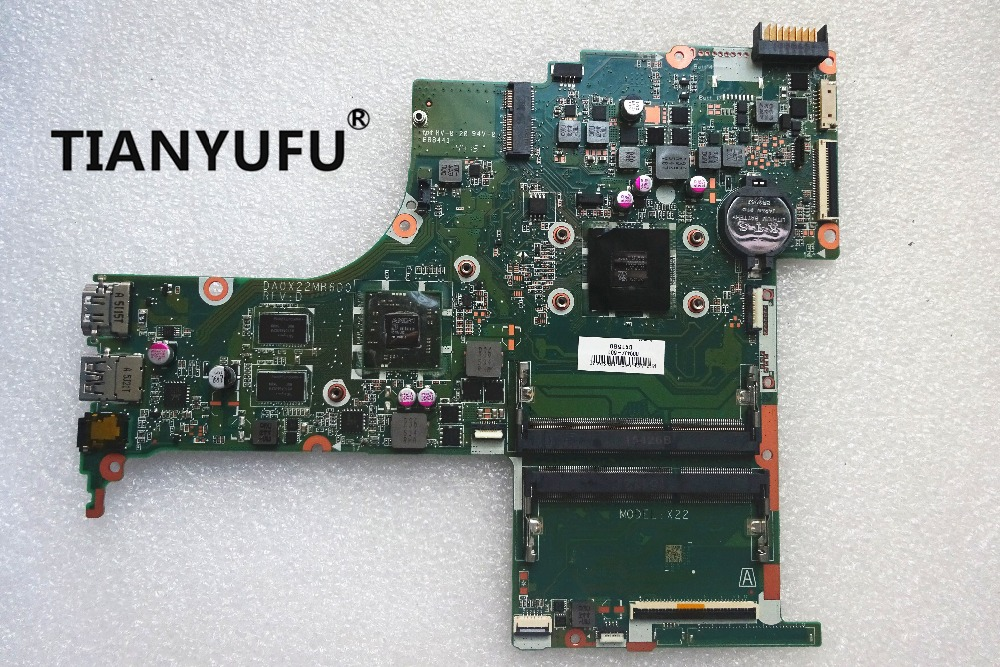Free shipping 809407 001 809407 501 DA0X22MB6D0 15 AB motherboard For HP 15 AB Laptop Motherboard