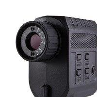 HD инфракрасный однотрубный ночного видения видео и фотокамера нетепловая визуализация телескоп ночного видения