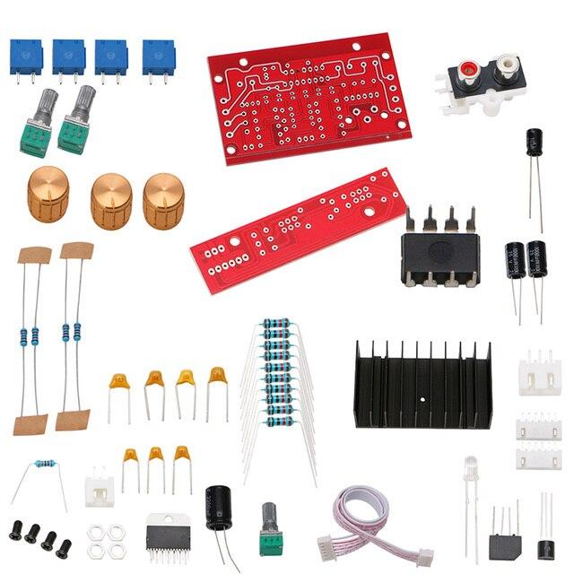 TDA7377 Power Amplifier 2.1 DIY kit 3 Channel Sound Audio AMP Board 12 18V DC