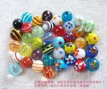 Darmowa wysyłka 40 sztuk/partia 16mm szklane marmurowe skok szachy wazon dekoracja akwarium piłka