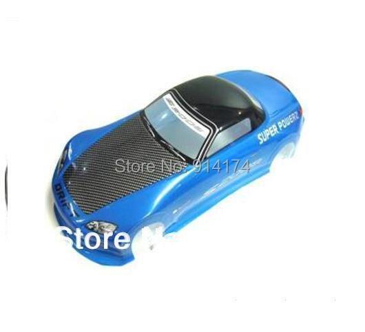 1/10 rc car accessories 1:10 PVC Body Shell 190mm S035B blue