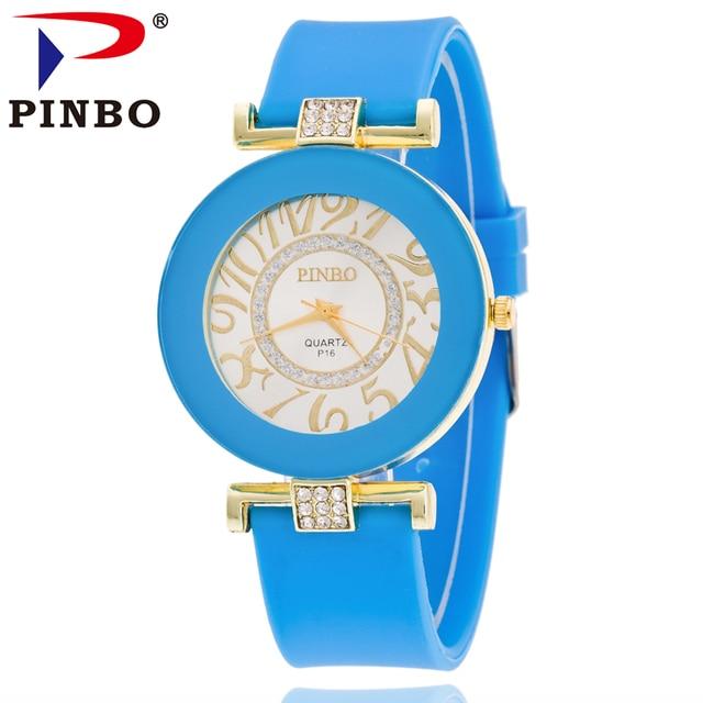 2016 Reloj Mujer Top Brand Luxury Quartz Watch Ladies Casual Silicone Women Watc