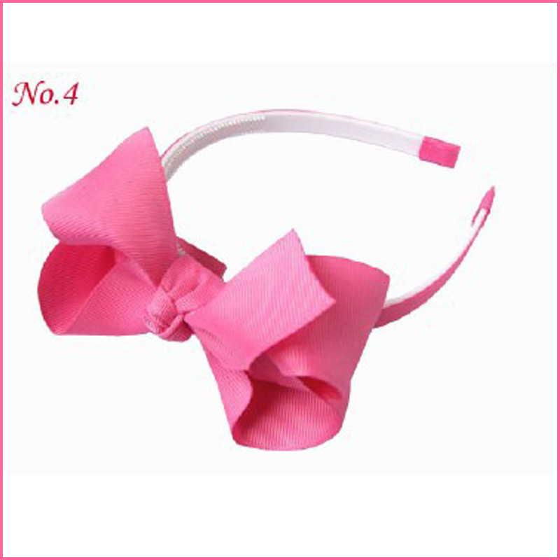 """50 BLESSING Good Girl Boutique Headband 4.5/"""" ABC Hair Bow 2 Styles 222 No."""