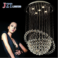GETOP Modern Luxury LED Crystal Chandelier Bedroom Corridor Hallway Entrance Crystal Chandelier Bar Balcony LED Lamp