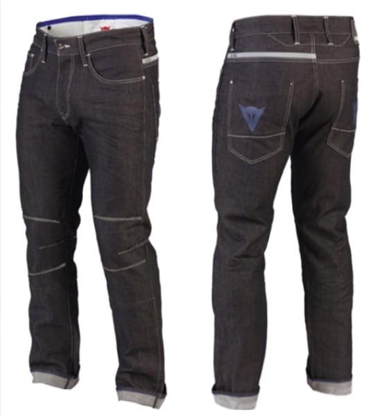 NEW 2016 Dain/es D6 Evo Aramid Riding Denim Jeans Black Motorcycle Pants racing pants Adult Pants/Jeans