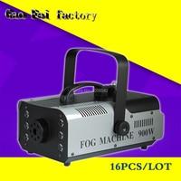 16pcs/lot 900w Smoke Fog Machine Stage Lighting Effect Smoke Generator Fog Generator Gogger Stage Lighting DJ Equipment
