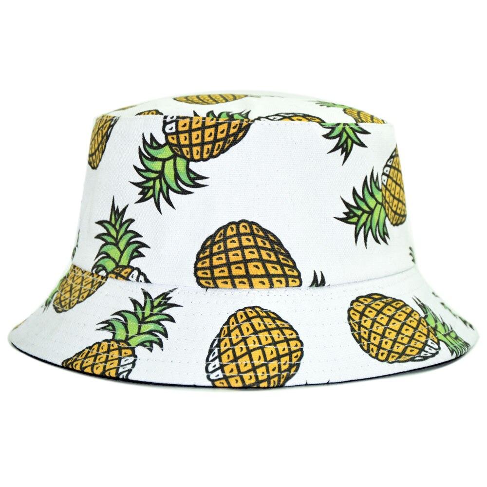 c8e84fa8aae ... new zealand reversible bucket hat men pineapple banana spring fall  canvas cotton jpg 1000x1000 pineapple bucket