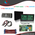 led advertising display screen DIY kits  P16 outdoor rgb led panel 1 pcs JN power supply +1 pcs contrller+all cable