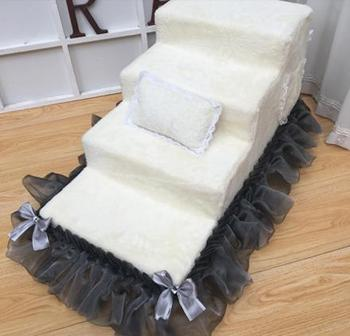 Pet staircase can be customized removable and washable pet staircase pet ladder steps