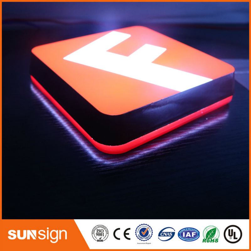 Factory Outlet 2016 New Products Outdoor Acrylic LED Channel Letters
