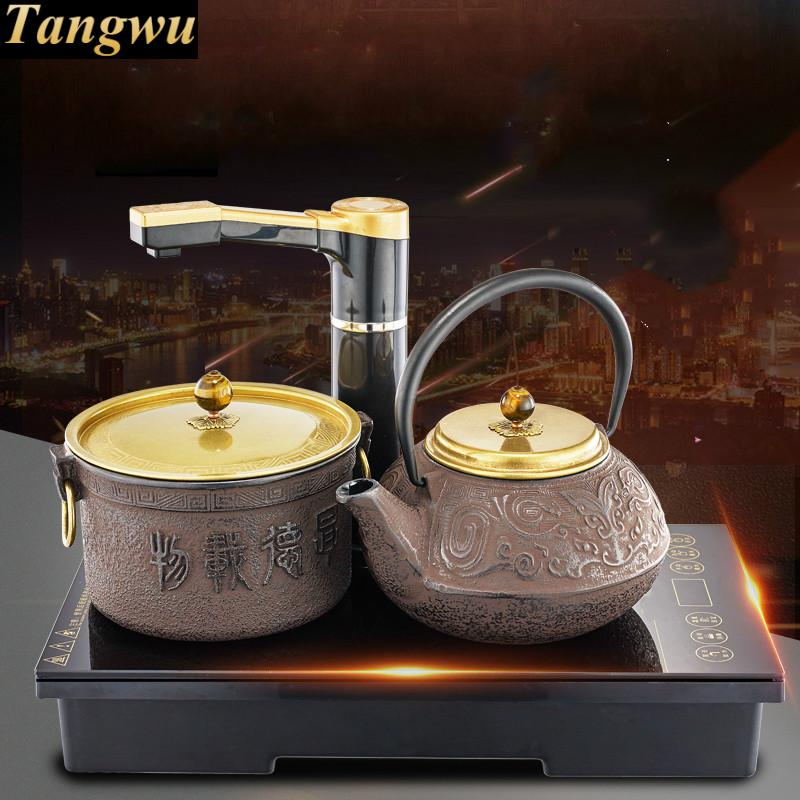 Electromagnetism tea furnace automatic upper water electric kettle power health brew iron