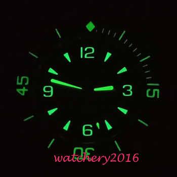 Corgeut Automatic Diver Watch Super Luminous Miyota Metal Mechanical Watches Green Dial Top Brand Best Cheap Sale