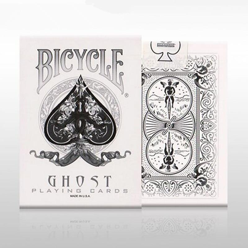 Hot Sale White Ghost Däck Cykel Magic Props Magic Playing Cards - Klassiska leksaker