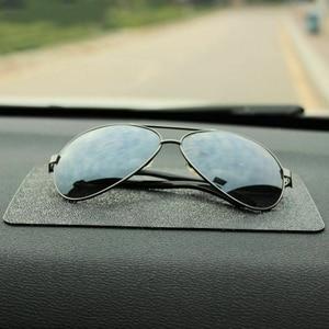 Image 4 - Auto Ornament PVC Anti Rutsch matte Sticky Pad Autos Interior Dashboard Beleg matte Für Telefon Münze Sonnenbrille Halter zubehör