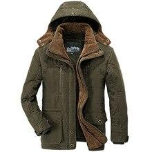 Мужская Супер теплая шерстяная парка на меху с капюшоном воротник Утепленная зимняя куртка 155