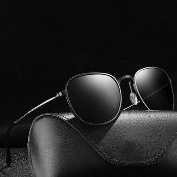 1fcecfa129 Negro polarizado gafas de sol de las mujeres negro/rojo/azul lente UV400  dama gafas vienen con caja