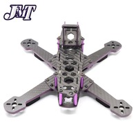 JMT MMX220 220mm Carbon Fiber Frame Kit with PDB Board Frame for FPV RC Racer Drone Quadcopter accessories
