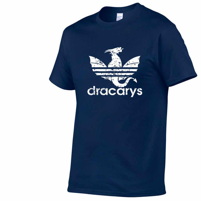 Dracarys スポーツゲームの魂ユニセックス大人 Tシャツ原宿ヴィンテージスタイル tシャツ Camisetas hombre Tシャツ男性服 2019