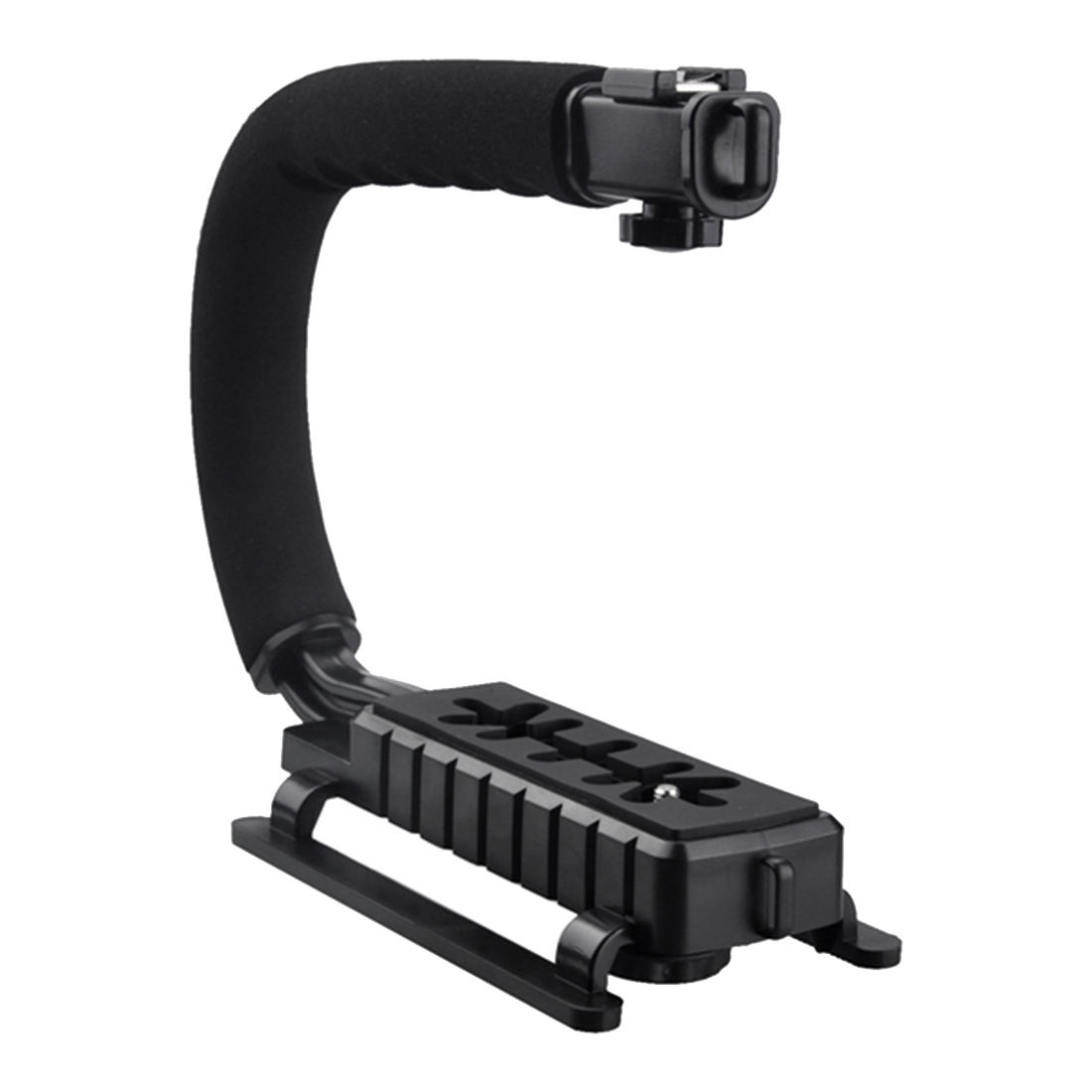Top Deals Pro Stabilizer C Shape Bracket Video Handheld Grip fit for Camcorder Camera DSLR
