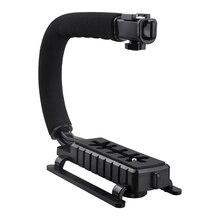 Топ предложения про стабилизатор c-Форма Кронштейн Видео ручной пригодный для видеокамеры Камера DSLR
