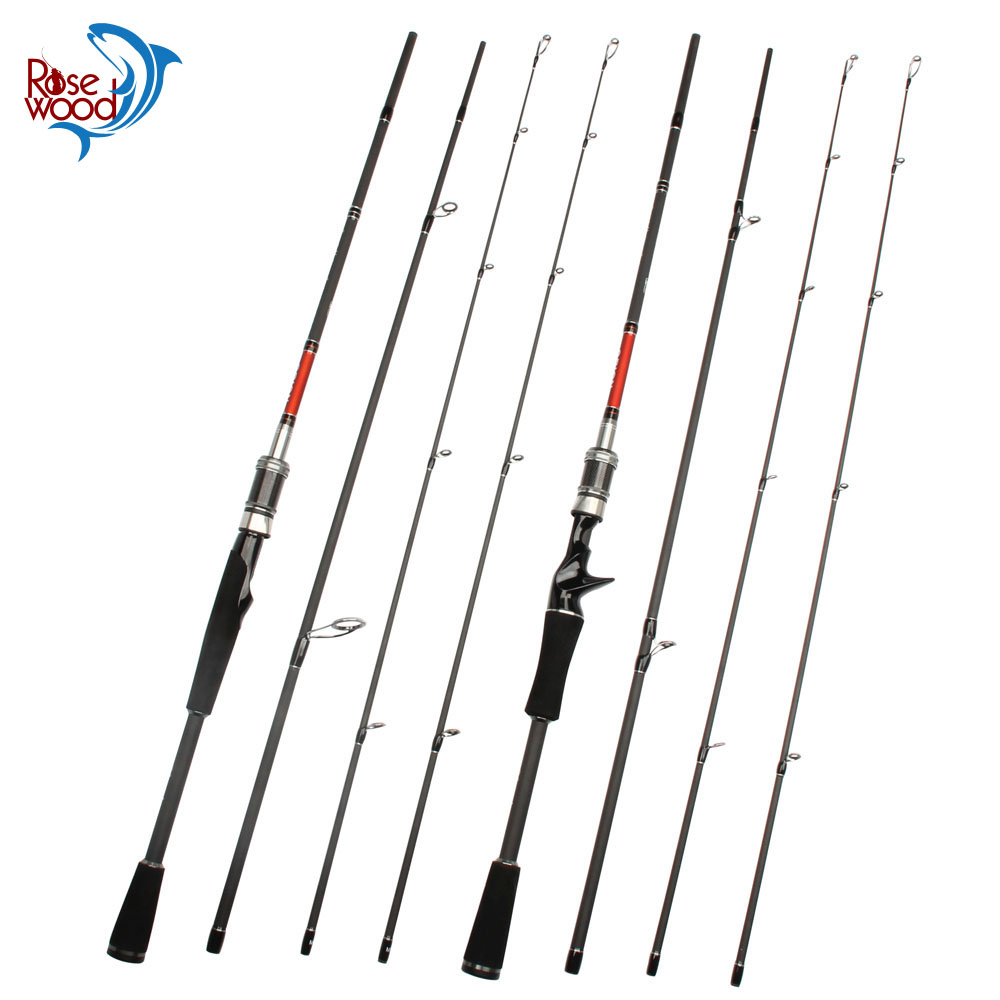 2018 New Orion Series 2.1m Double Tips Lure Fishing Rod M/ML Power 4-20LBlbs Carbon Spinning Casting Fishing Rod With Bag Case