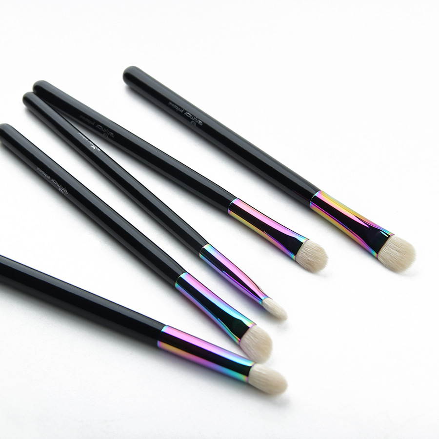 Anmor New Essential Eye Shadow Brush Set Rainbow Högkvalitativa - Smink - Foto 3