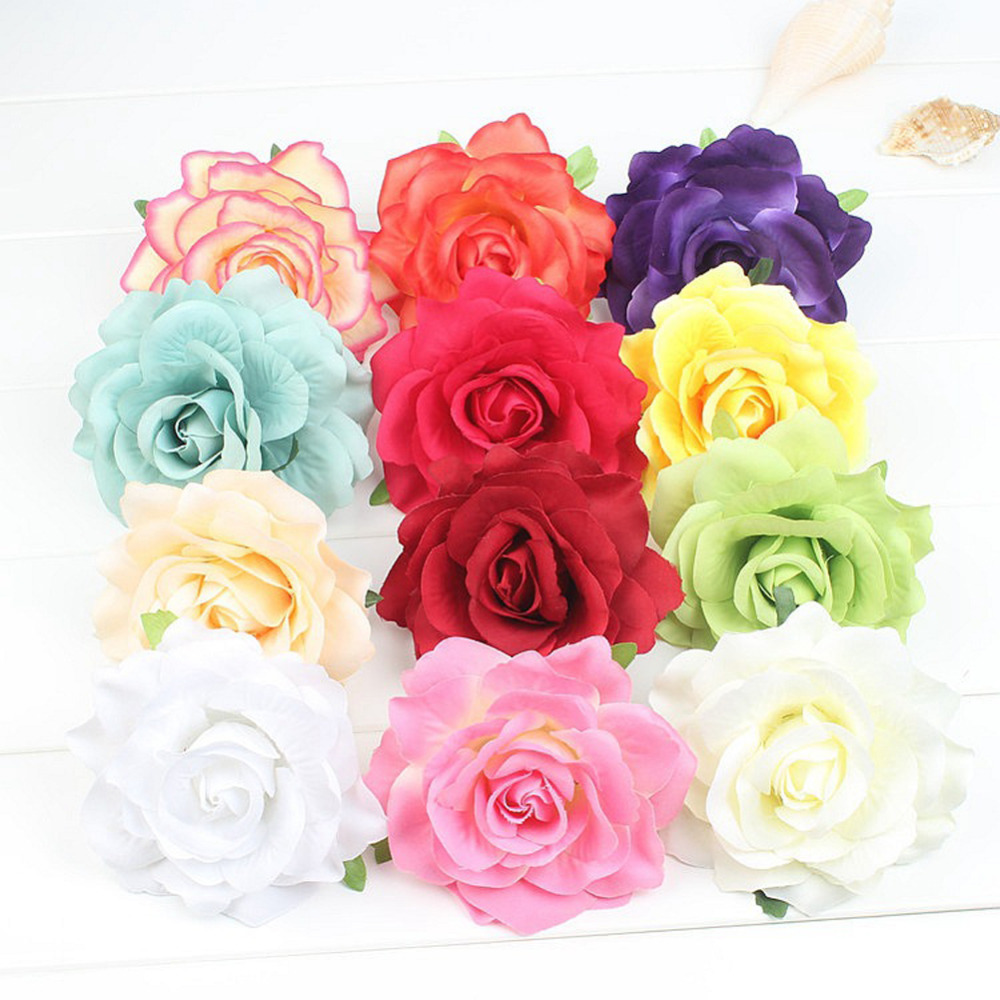 1pc hotselling Wedding Bridal Hairpin White Rose Flower Hair Pin Beauty Hair Clip Women Accessory Jewelry