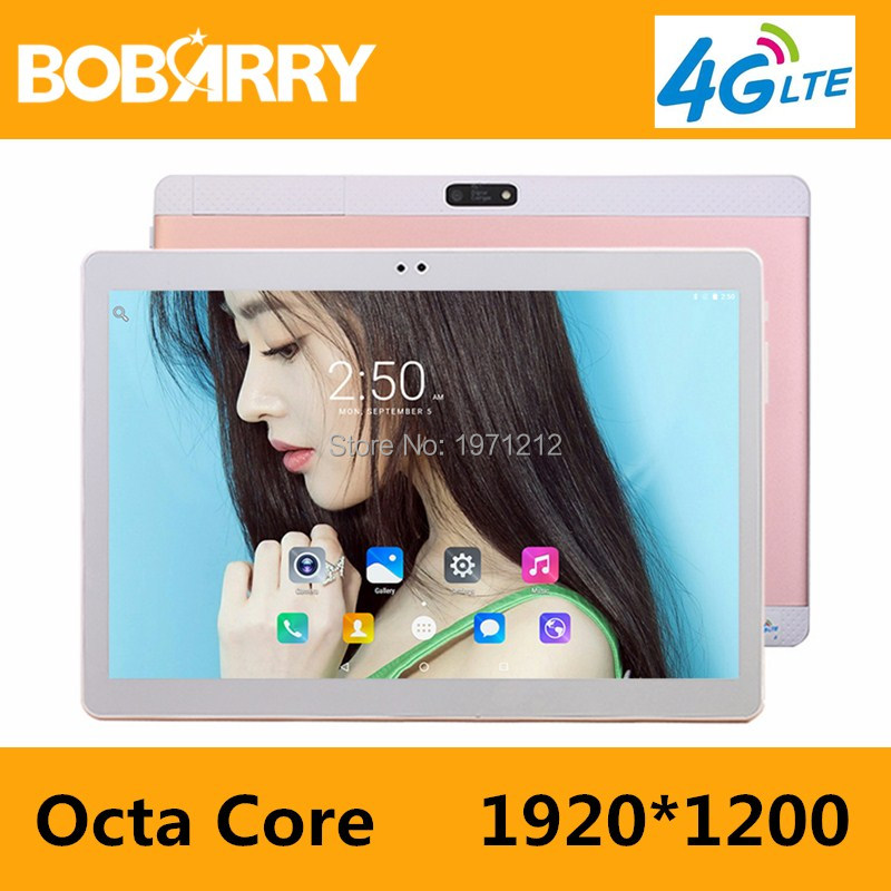 10 inch MTK8752 Octa Core Tablet PC smartphone 1280x800 HD 4GB RAM 32GB ROM Wifi 3G WCDMA Mini android 7.0 GPS FM tablet+Gifts
