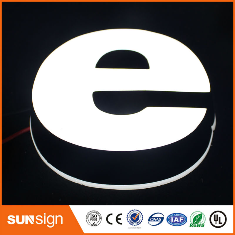 High Brightness Acrylic Shop Front Signage,led Acrylic Letter Sign