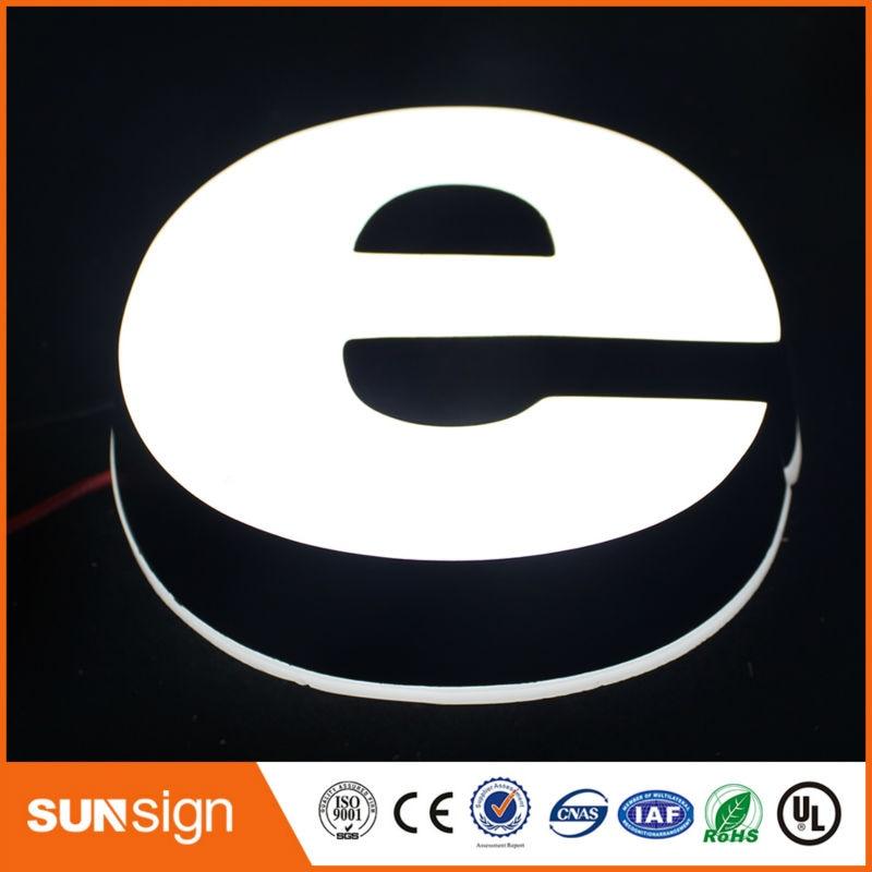 High Brightness Acrylic Shop Front Signage,led Acrylic Letter Sign