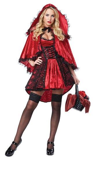 UTMEON   Sweet Little Red Riding Hood  Halloween Costume  Fancy Outfit Cosplay Little Red Riding Hood Costume