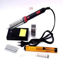 Nueva PC PCB 60 W con luz 110 V EE.UU. 220 V UE PLUG Electrónico Soldador del Lápiz Del Calor De Soldadura herramienta