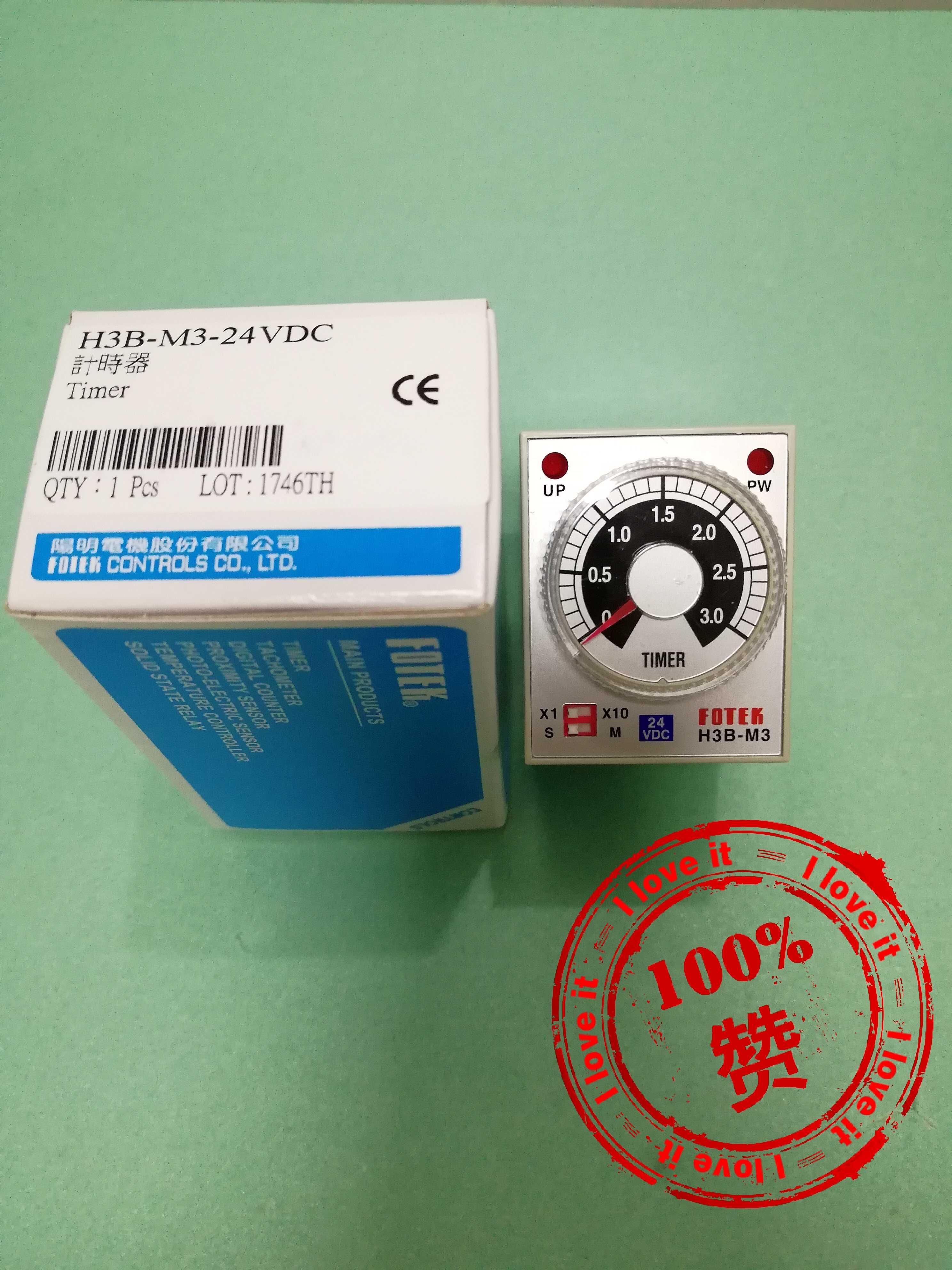 New Original Time Relay H3B-M3-24VDC 24V