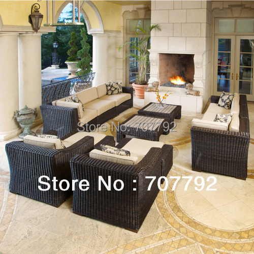 New Style Resin Wicker Outdoor Furniture