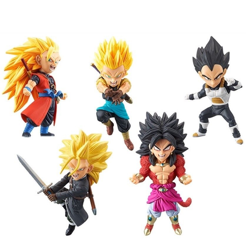 Super Dragon Ball Heroes monde à collectionner Figure WCF Vol.2 ensemble complet 100% Original