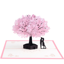 Valentines Day 3D Love Pop UP Cards with Envelope Stickers Wedding Laser Cut Invitation Greeting Anniversary for Her