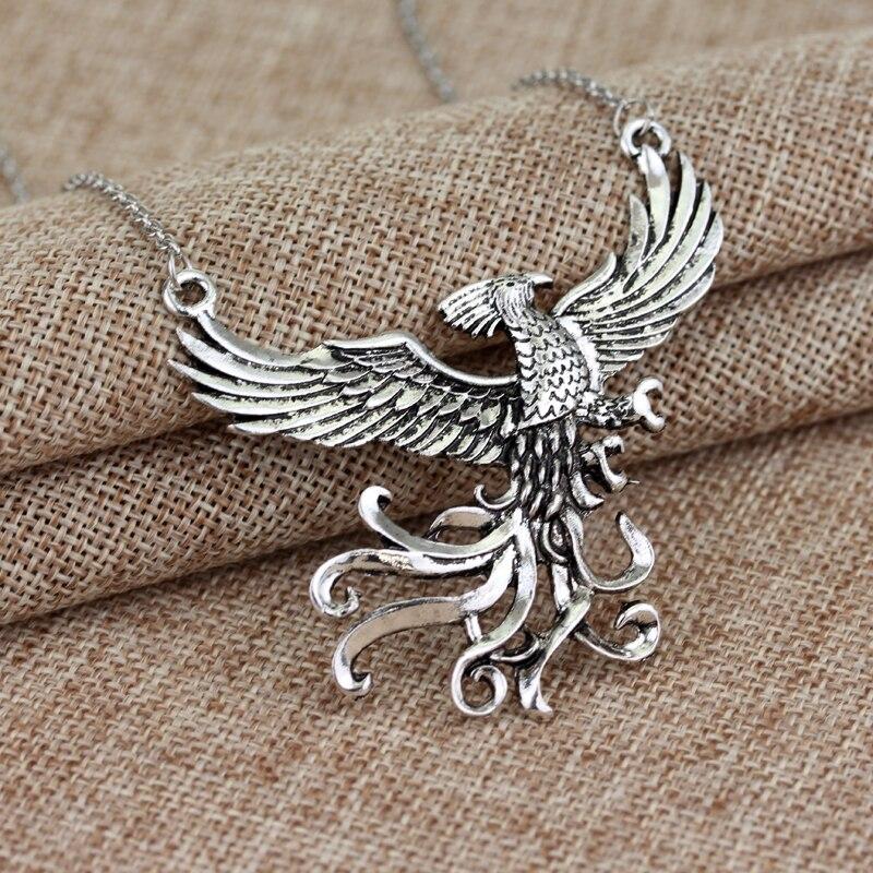 Phoenix fire bird necklace vintage antique silver firebird pendant img7236 img7296 img7297 img7298 img7299 img7300 aloadofball Images