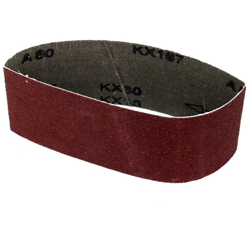 Cinturón de lijado de 5 piezas 75x533 mm Cinturones de arena de 3 - Herramientas abrasivas - foto 6
