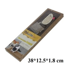 High Quality Cat Toys Pet Products Kitten Cat Scratch Board Pad Scratcher Bed Mat Claws Care Small Kitten Mat