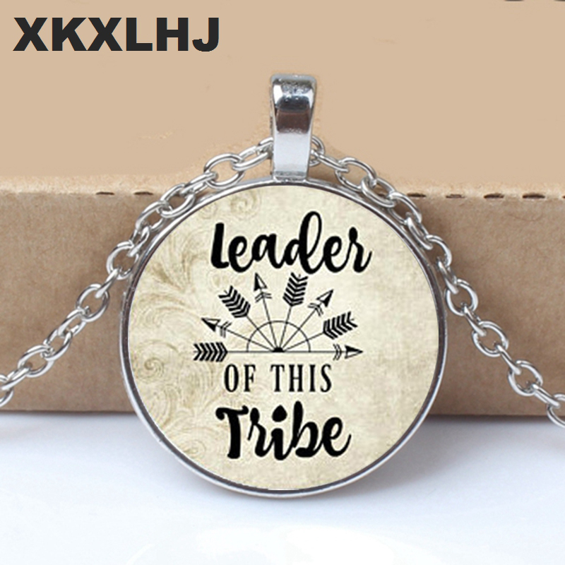 Leader of the new TRIBE pendant, mothers gift, charm necklace, charm, family leader, mom Mothers Day