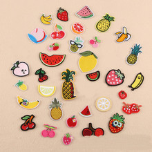 Many Small Fruits Repair Badge Patch Embroidered Patches For Clothing Iron On Close Shoes Bags Badges Embroidery DIY