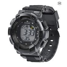 Men Fashion LED Digital Alarm Date Rubber Army Watch Waterproof Sport Wristwatch Male Sport Watch Digital Watch Relogio Digital