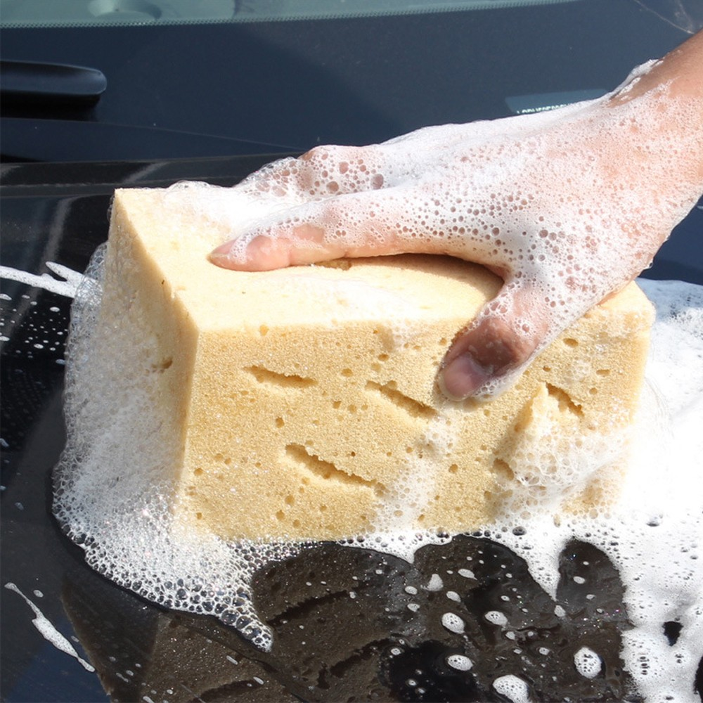 Image 4 - Thicken Coral Car Wash Car Sponge Hole Paint free Car Paint Accesorios de coche #YL1-in Sponges, Cloths & Brushes from Automobiles & Motorcycles