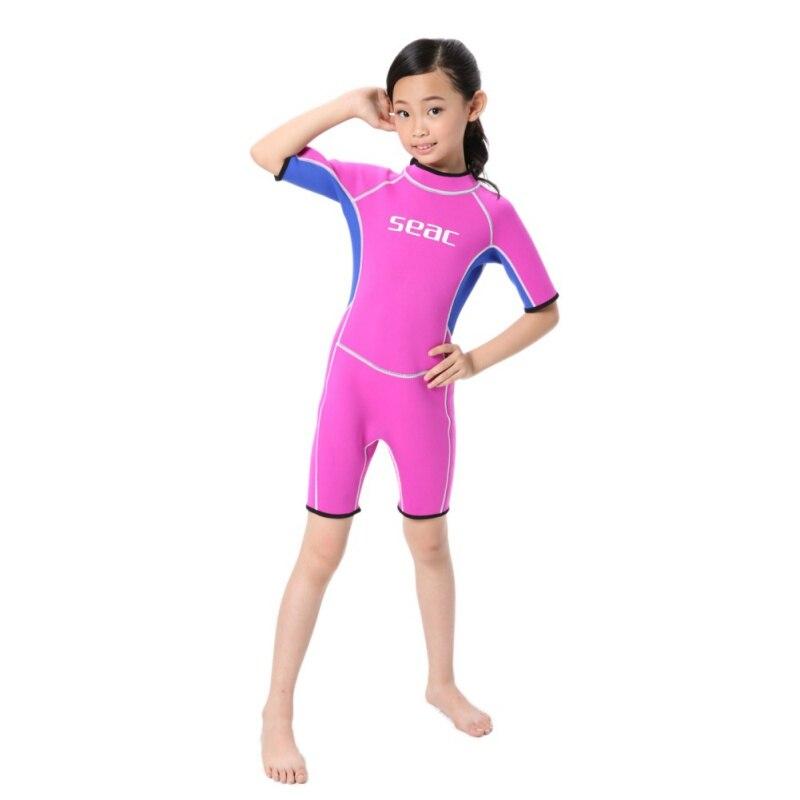 Profissão crianças wetsuits meninos meninas retalhos de