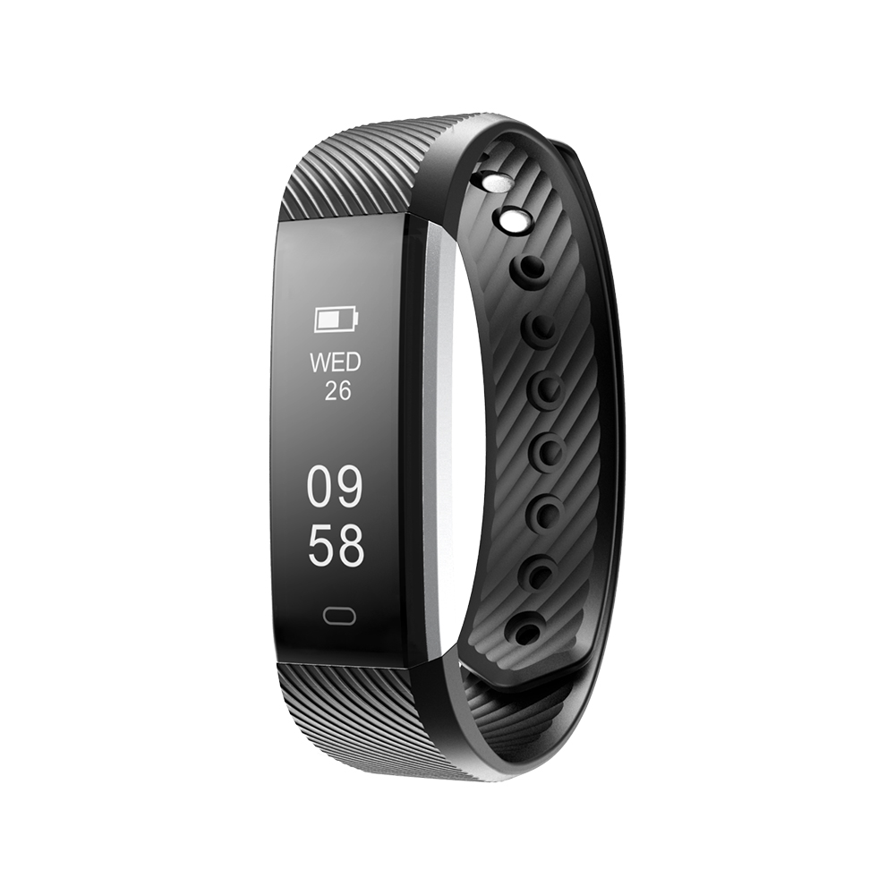 Fitness Tracker Band Bracelet Test Accurate 0.86 Inch Big Screen Star 3 Heart Rate Smart Watch Passometer Waterproof