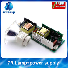 7R Power Supply with 7R 230W Moving Head Beam Lamp Bulb Stage Lampsc+ Ballast 1pc lot MSD Platinum 7R stage light 15r 300w beam lamp power supply electronic ignitor ballast for 15r stage light moving head beam 15r sharpy light 15r ballast