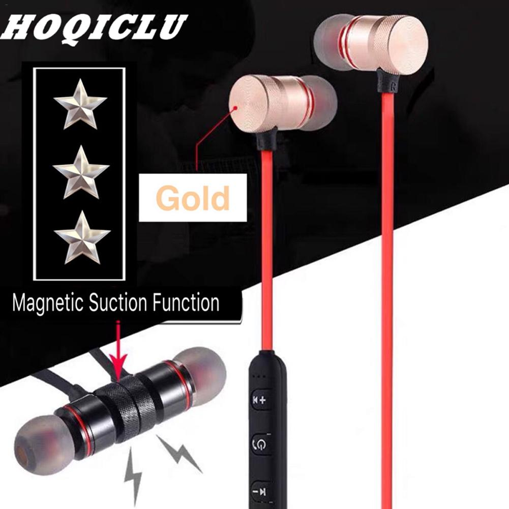 Image 5 - New Bluetooth Earphones Magnetic In Ear Stereo Sports Mobile Phone Universal Bluetooth V4.1 Comfortable Design Headset Portable-in Bluetooth Earphones & Headphones from Consumer Electronics